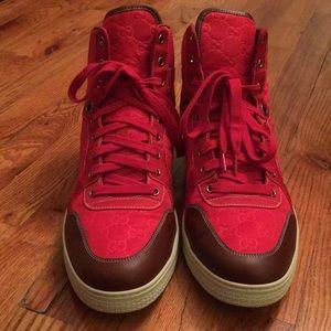 Gucci Shoes | Red Mens Gucci Aeito